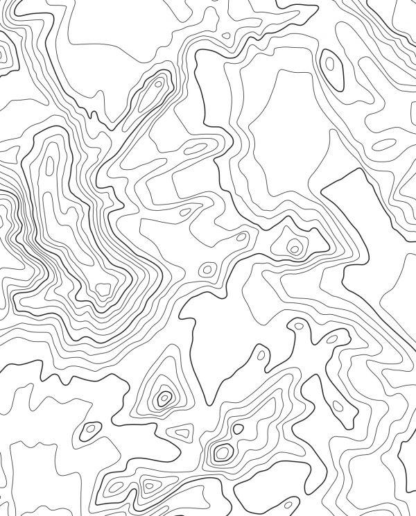 Vinson Massif White Background Closeup