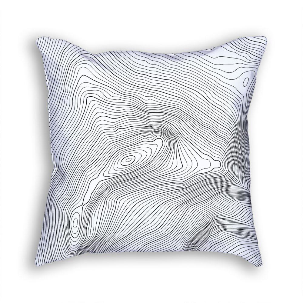 Aconcagua Russia Decorative Throw Pillow White