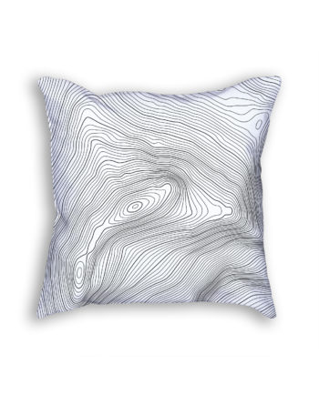 Aconcagua Russia Decorative Throw Pillow White