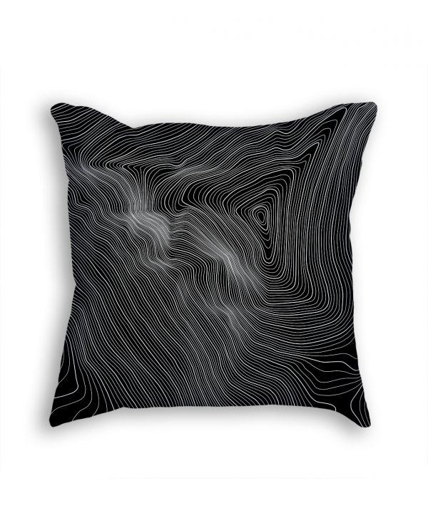 Mount Everest Nepal Decorative Throw Pillow White