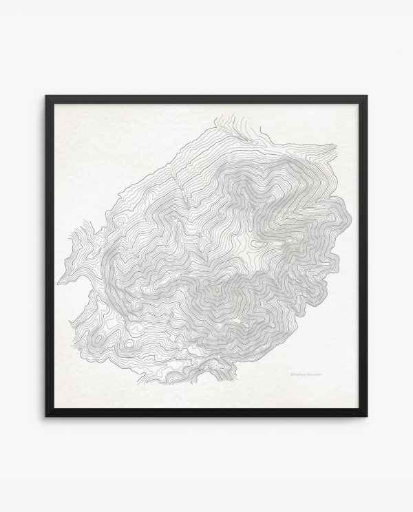 Whiteface Mountain Vintage Framed Poster