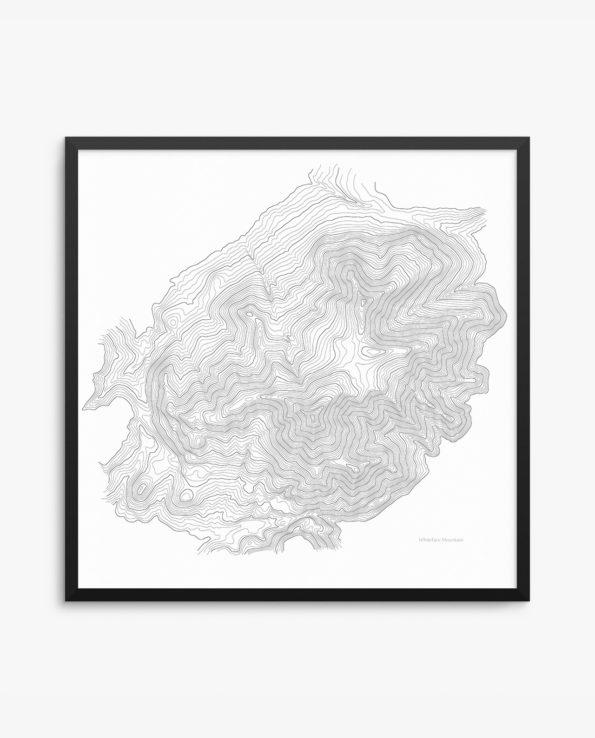 Whiteface Mountain Framed Poster