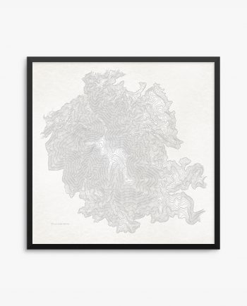 Mount Saint Helena Framed Vintage Poster