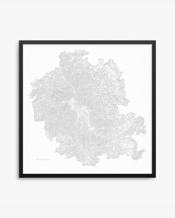 Mount Saint Helena Framed Poster