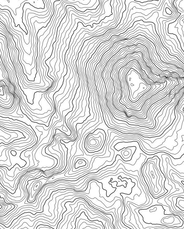 Lassen Peak California USA White Poster Closeup